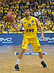 02.06.2019, EWE Arena, Oldenburg, GER, easy Credit-BBL, Playoffs, HF Spiel 1, EWE Baskets Oldenburg vs ALBA Berlin, im Bild<br /> frei am Ball<br /> Viojdan STOJANOVSKI (EWE Baskets Oldenburg #19 )<br /> Foto © nordphoto / Rojahn