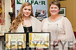 Listowel Food Fair: Pictured at the Listowel Food Fair Awards Dinner on Friday night last at the Listowel Arms Hotel  were the winners of the best baked foods category and local Food Hero award were Wellness Bakery, Listowel  owners Anna Bajzat & Ildiko Farago.