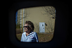 Election volunteer Vivian Clark poses for a portrait outside Colorado Precinct #426.  The precinct polling place is held on the ground floor of Francis Heights, a Catholic-run senior living facility in northwest Denver...GENERAL CAPTION: People and scenes from Colorado Election Day, 2010.  Colorado is home to several hotly contested seats, including a close Senate Race and several house seats...Assigning Editor: Michael Wichita AARP Bulletin.Contract #: 5032.Model Released: Yes.AARP Restrictions: No (Limited to Contract).