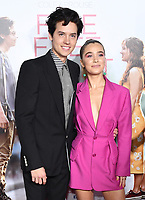 """07 March 2019 - Westwood, California - Cole Sprouse, Haley Lu Richardson. """"Five Feet Apart"""" Los Angeles Premiere held at the Fox Bruin Theatre. Photo Credit: Birdie Thompson/AdMedia"""