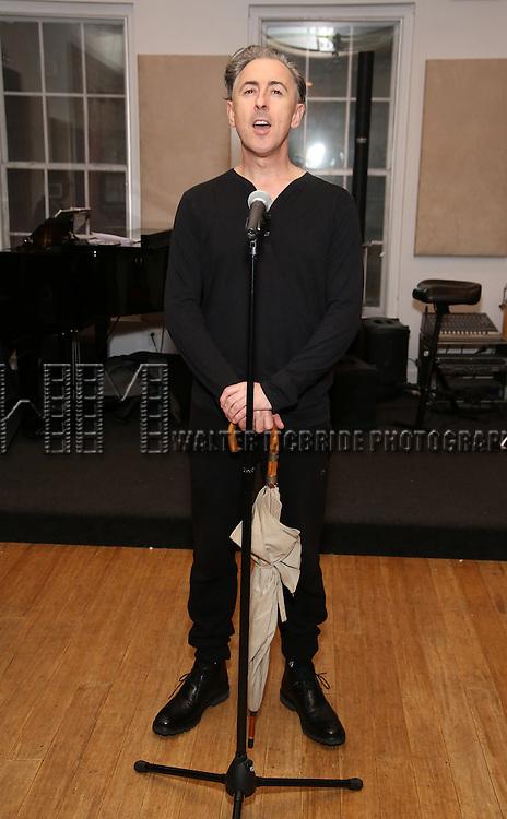 Alan Cumming in Rehearsal for 'Chita: Nowadays'  at Michiko Studio on October 27, 2016 in New York City.