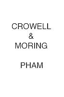 Crowell & Moring PHAM