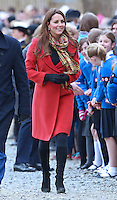 Kate, Duchess Of Cambridge & Prince William at the Tamar Manoukin Centre opening - Scotland