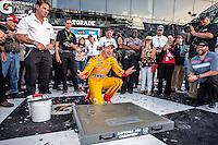 Joey Logano, Victory Lane, Daytona 500, NASCAR Sprint Cup Series, Daytona International Speedway, Daytona Beach, FL