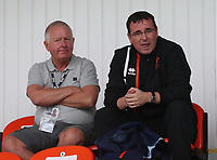 Blackpool Manager Gary Bowyer<br /> <br /> Photographer Rachel Holborn/CameraSport<br /> <br /> Pre-Season Friendly - Southport v Blackpool - Saturday 15th July 2017 - Merseyrail Community Stadium - Southport<br /> <br /> World Copyright &copy; 2017 CameraSport. All rights reserved. 43 Linden Ave. Countesthorpe. Leicester. England. LE8 5PG - Tel: +44 (0) 116 277 4147 - admin@camerasport.com - www.camerasport.com