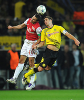 FUSSBALL   CHAMPIONS LEAGUE   SAISON 2011/2012  Borussia Dortmund - Arsenal London        13.09.2001 Robin VAN PERSIE (li, Arsenal) gegen Sebastian KEHL (re, Dortmund)