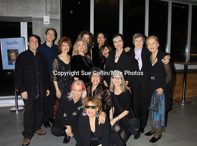 """One Life To Live Taina Elg """"Olympia Buchanan"""" and more as they reunite with other castmembers for Starry Actors' Fund Benefit on January 14, 2013 for one night only at the Pershing Square Signature Center, New York City, New York.  (Photo by Sue Coflin/Max Photos)"""