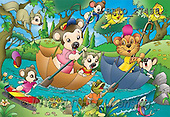 Alfredo, CUTE ANIMALS, puzzle, paintings(BRTO27496,#AC#) illustrations, pinturas, rompe cabeza