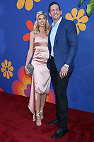 """LOS ANGELES - SEP 5:  Heather Rae Young, Tarek El Moussa at the """"A Very Brady Renovation"""" Premiere Event at the Garland Hotel on September 5, 2019 in North Hollywood, CA"""
