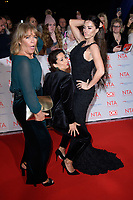 Linda Robson, Saira Khan and Katie Price<br /> arriving for the National Television Awards 2018 at the O2 Arena, Greenwich, London<br /> <br /> <br /> ©Ash Knotek  D3371  23/01/2018