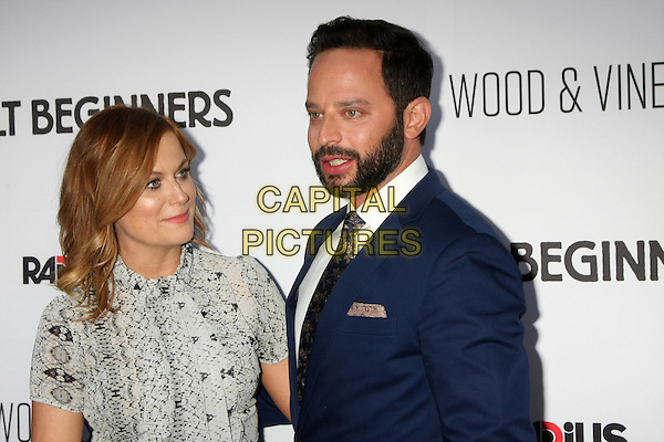 Amy Poehler, Nick Kroll at the premiere of 'Adult Beginners' at ArcLight Hollywood on April 15, 2015 in Hollywood, California. <br /> CAP/MPI/DC/DE<br /> &copy;DE/DC/MPI/Capital Pictures