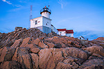 Soft Evening Light at The Eastern Point Lighthouse, Gloucester Massachusetts, USA