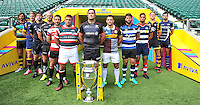 Aviva Premiership Rugby 2016-2017 Season Launch at Twickenham Stadium on August 25, 2016 in London,