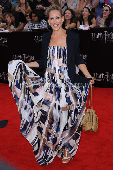WWW.ACEPIXS.COM . . . . . .July 11, 2011...New York City...Sarah Jessica Parker attends the New York premiere of 'Harry Potter And The Deathly Hallows: Part 2' at Avery Fisher Hall, Lincoln Center on July 11, 2011 in New York City...Please byline: KRISTIN CALLAHAN - ACEPIXS.COM.. . . . . . ..Ace Pictures, Inc: ..tel: (212) 243 8787 or (646) 769 0430..e-mail: info@acepixs.com..web: http://www.acepixs.com .