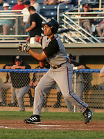 June 25, 2003:  Anthon Bocchino of the Williamsport Crosscutters during a game at Dwyer Stadium in Batavia, New York.  Photo by:  Mike Janes/Four Seam Images