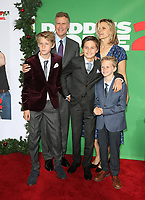 04 November 2017 - Westwood, California - Will Ferrell, Magnus Paulin Ferrell, Mattias Paulin Ferrell, Axel Paulin Ferrell. &quot;Daddy's Home 2&quot; Los Angeles Premiere held at Regency Village Theatre. <br /> CAP/ADM/FS<br /> &copy;FS/ADM/Capital Pictures