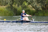 Race: 131  1x (Band 1)  Final<br /> <br /> Peterborough Summer Regatta 2018 - Sunday<br /> <br /> To purchase this photo, or to see pricing information for Prints and Downloads, click the blue 'Add to Cart' button at the top-right of the page.