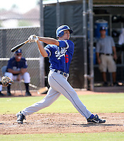 Nick Buss / Los Angeles Dodgers 2008 Instructional League..Photo by:  Bill Mitchell/Four Seam Images