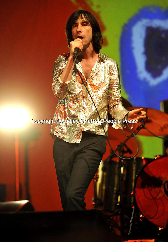 Primal Scream at Camp Bestival at Lulworth Castle & Park, Dorset - July 29th-31st 2011..Photo by Audley Stratton