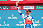 Luis Angel Mate Mardones (ESP) Cofidis retains the Polka Dot Jersey at the end of Stage 10 of the La Vuelta 2018, running 177km from Salamanca to Fermoselle. Bermillo de Sayago, Spain. 4th September 2018.<br /> Picture: Unipublic/Photogomezsport | Cyclefile<br /> <br /> <br /> All photos usage must carry mandatory copyright credit (&copy; Cyclefile | Unipublic/Photogomezsport)