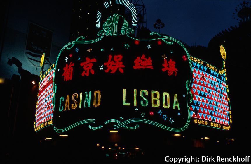 China, Macao, Casino Lisboa