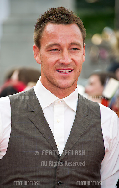 John Terry arriving for the World Premiere of 'Harry Potter & the Deathly Hallows pt2', Trafalgar Square, London. 07/07/2011  Picture by: James McCauley / Featureflash