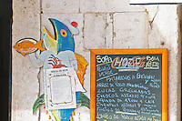 A cafe and restaurant. Lisbon, Portugal