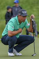 Padraig Harrington (IRL) looks over his long birdie putt on 2 during round 3 of the AT&T Byron Nelson, Trinity Forest Golf Club, Dallas, Texas, USA. 5/11/2019.<br /> Picture: Golffile | Ken Murray<br /> <br /> <br /> All photo usage must carry mandatory copyright credit (© Golffile | Ken Murray)