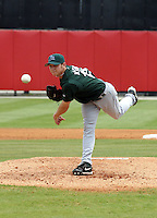 March 21 2005:  Tampa Bay Devil Rays pitcher Scott Kazmir during a game at Al Lang Field in St. Petersburg, FL.  Photo by:  Mike Janes/Four Seam Images