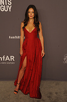 NEW YORK, NY - FEBRUARY 6: Emily DiDonato arriving at the 21st annual amfAR Gala New York benefit for AIDS research during New York Fashion Week at Cipriani Wall Street in New York City on February 6, 2019. <br /> CAP/MPI/JP<br /> &copy;JP/MPI/Capital Pictures