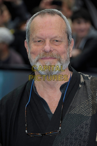 Terry Gilliam.'Prometheus' world film premiere, Empire cinema, Leicester Square, London, England..31st May 2012.headshot portrait black beard facial hair grey gray .CAP/PL.©Phil Loftus/Capital Pictures.