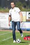 Saarbr&uuml;ckens Trainer Dirk Lottner<br />  beim Spiel in der Regionalliga Suedwest, 1. FC Saarbruecken - FK Pirmasens.<br /> <br /> Foto &copy; PIX-Sportfotos *** Foto ist honorarpflichtig! *** Auf Anfrage in hoeherer Qualitaet/Aufloesung. Belegexemplar erbeten. Veroeffentlichung ausschliesslich fuer journalistisch-publizistische Zwecke. For editorial use only.