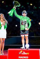 Fabio Felline, winner of Points classification at La Vuelta a España 2016 in Madrid. September 11, Spain. 2016. (ALTERPHOTOS/BorjaB.Hojas) NORTEPHOTO.COM