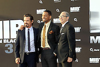 Josh Brolin, Will Smith and Barry Sonnenfeld attending MEN IN BLACK 3 premiere at O2 World. Berlin, Germany, 14.05.2012...Credit: Semmer/face to face.. /MediaPunch Inc. ***FOR USA ONLY***