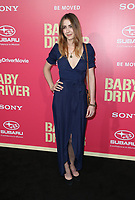"""LOS ANGELES, CA June 14- Madeline Zima, At Premiere Of Sony Pictures' """"Baby Driver"""" at The Ace Hotel, California on June 143, 2017. Credit: Faye Sadou/MediaPunch"""