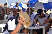 SAO PAULO, SP, 12 FEVEREIRO 2013 - CARNAVAL SP - APURAÇÃO -  Presidentes e diretores da Academicos do Tucuruvi durante apuração dos votos das escolas de Samba do Grupo Especia no Sambódromo do Anhembi na região norte da capital paulista, nesta terça, 12. FOTO: LEVI BIANCO - BRAZIL PHOTO PRESS