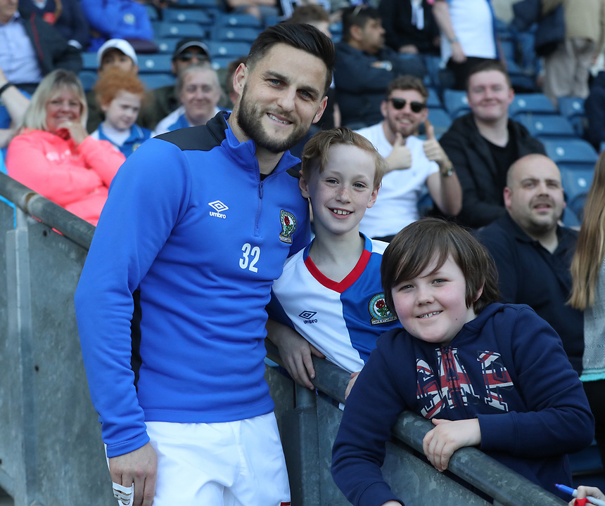 Blackburn Rovers' Craig Conway<br /> <br /> Photographer Rachel Holborn/CameraSport<br /> <br /> The EFL Sky Bet Championship - Blackburn Rovers v Barnsley - Saturday 8th April 2017 - Ewood Park - Blackburn<br /> <br /> World Copyright &copy; 2017 CameraSport. All rights reserved. 43 Linden Ave. Countesthorpe. Leicester. England. LE8 5PG - Tel: +44 (0) 116 277 4147 - admin@camerasport.com - www.camerasport.com