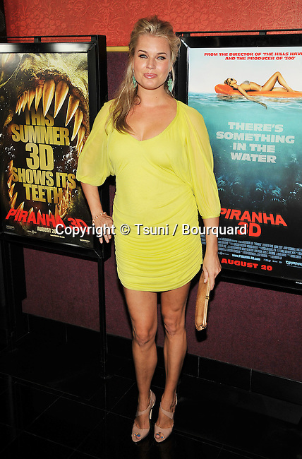 Rebecca Romijin<br /> Piranha 3D Screening at the chinese 6 Theatre in Los Angeles.