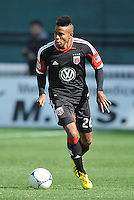Lionad Pajoy (26) of D.C. United. The Columbus Crew defeated D.C. United 2-1 ,at RFK Stadium, Saturday March 23,2013.