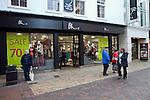 BHS store January sales, Ipswich