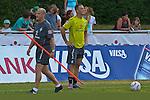 11.07.2010, An der Muehle, Norderney, GER, Trainingslager Werder Bremen 1. FBL 2010 - Day04 im Bild     Thomas Schaaf ( Werder  - Trainer  COACH) geht an Marko Arnautovic (Werder #07 ) vorbei, beide schauen in eine anderer Richtung Foto © nph / Kokenge
