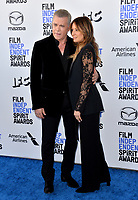 SANTA MONICA, CA: 08, 2020: Ray Liotta & Jacy Nittolo at the 2020 Film Independent Spirit Awards.<br /> Picture: Paul Smith/Featureflash