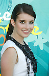 UNIVERSAL CITY, CA. - August 09: Actress Emma Roberts arrives at the Teen Choice Awards 2009 held at the Gibson Amphitheatre on August 9, 2009 in Universal City, California.