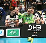 08.01.2019, Hohenschoenhausen, Berlin, GER, Handball WM, DHB,  TRAINING, im Bild <br /> Fabian Wiede (GER #10), Silvio Heinevetter (GER #12), Patrick Wiencek (GER #7), Finn Lemke (GER #6), Hendrik Pekeler (GER #13), Uwe Gensheimer (GER #3)<br /> <br />      <br /> Foto &copy; nordphoto / Engler