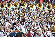Landover, MD - September 3, 2017: Virginia Tech Hokies band during game between Virginia Tech and WVA at  FedEx Field in Landover, MD.  (Photo by Elliott Brown/Media Images International)