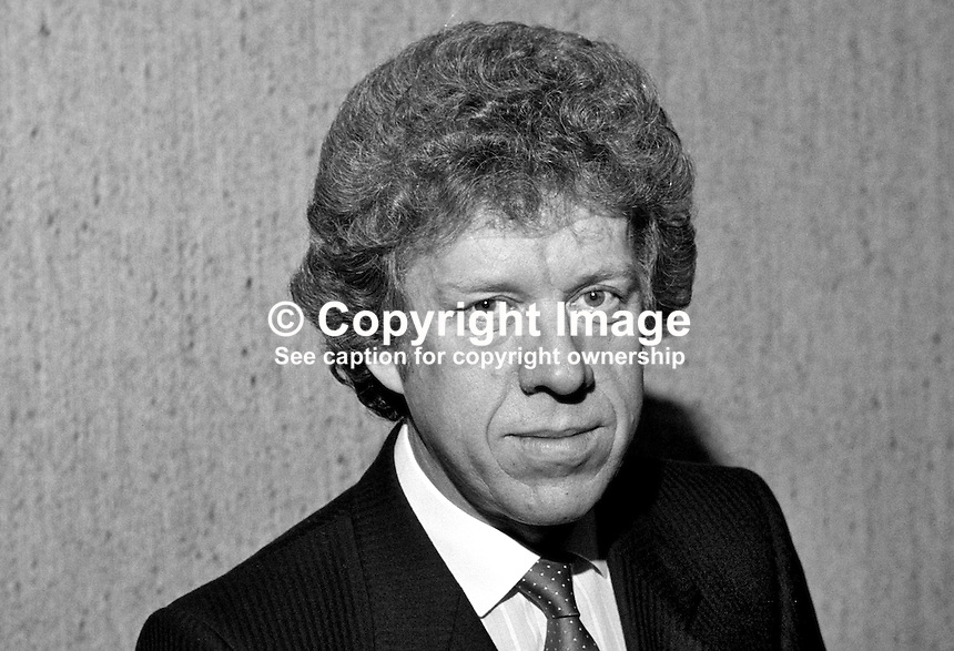 Ivor Oswald, chairman, N Ireland branch, Building Societies Association, 19850016IO..Copyright Image from Victor Patterson, 54 Dorchester Park, Belfast, UK, BT9 6RJ..Tel: +44 28 9066 1296.Mob: +44 7802 353836.Voicemail +44 20 8816 7153.Skype: victorpattersonbelfast.Email: victorpatterson@mac.com.Email: victorpatterson@ireland.com (back-up)..IMPORTANT: If you wish to use this image or any other of my images please go to www.victorpatterson.com and click on the Terms & Conditions. Then contact me by email or phone with the reference number(s) of the image(s) concerned.