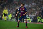 FC Barcelona's defense Jordi Alba seen in action during La Liga match. Mar 01, 2020. (ALTERPHOTOS/Manu R.B.)