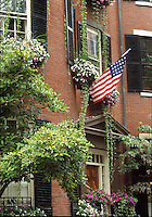 Louisburg Square, Beacon Hill, Boston, MA