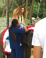 Beyoncé Knowles and Jay Z  enjoy some Christmas family vacation in Phuket - Thailand