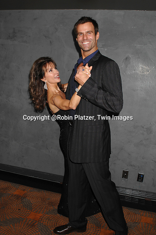 Susan Lucci and Cameron Mathison..at The Surprise 70th Birthday Party for All My Children's star Susan Lucci's husband Helmet Huber on October 10, 2007 at The Rainbow Room ....Photo by Robin Platzer, Twin images....212-935-0770